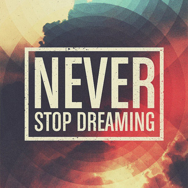 never stop dreaming by @kaitofu