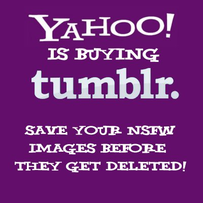 yahoo is buying tumblr - source http://bit.ly/12EES3i