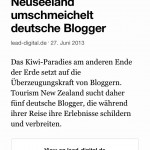 Digg Reader - Layout from an article based on feed