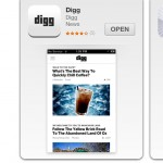 Digg Reader - Digg Reader App now at App Store